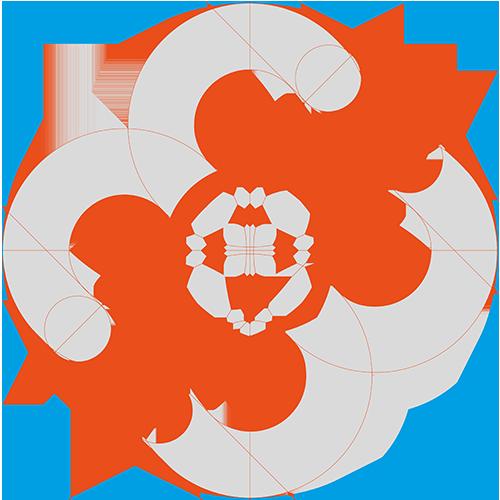 My Way ride-sharing app - logo wireframe
